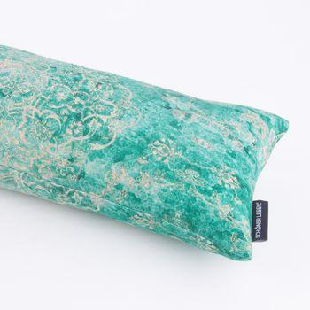 Zugluftstopper Orientalmuster Vintage mint grün beige 80 bis 130cm lang – Bild 1