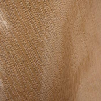 Gardinenstoff Dekostoff Universal Längsstreifen bronze schimmernd raumhoch 3m Breite – Bild 5