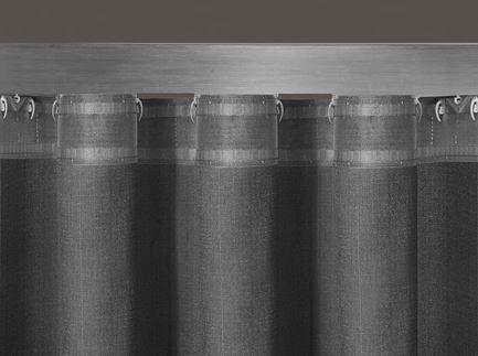Wave-System Newave Wellenband mit Drehgleiterkordel und Steckhaken 8cm Wellenabstand Komplett-Set 1:2,5 – Bild 2