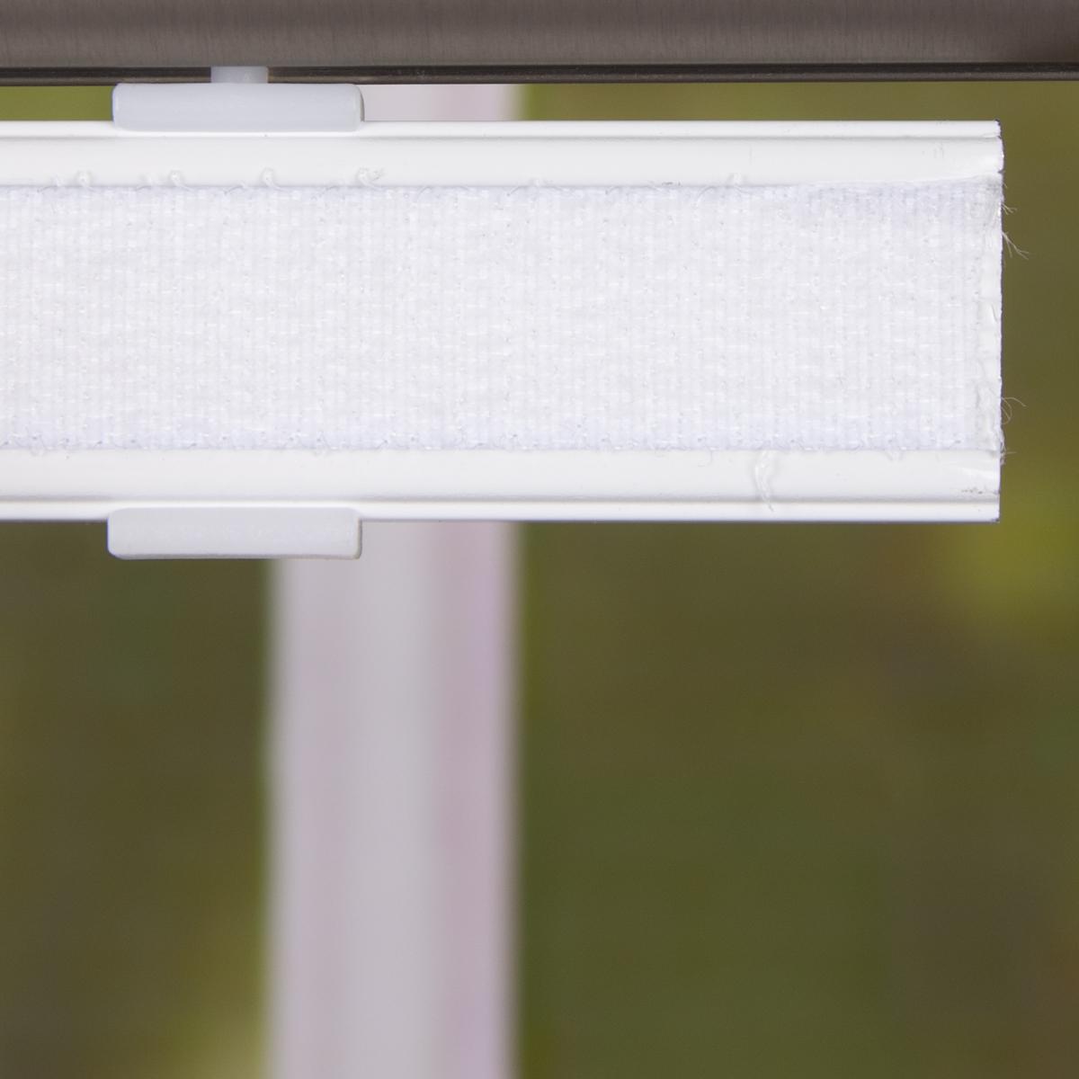 schiebevorhang leinenoptik scherli effektstreifen wei grau schwarz 245x60cm gardinen. Black Bedroom Furniture Sets. Home Design Ideas