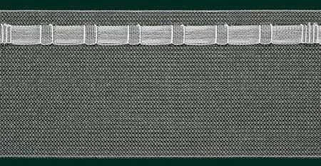 Gardinenband Wave Wellenband Taschenband volltransparent 75mm