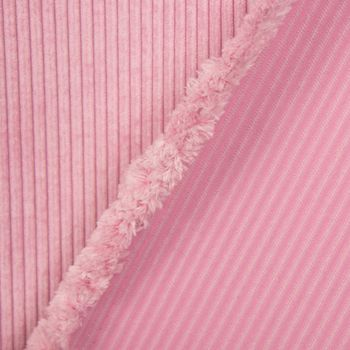 Cordstoff Cord Dekostoff Corduroy rosa 1,45m Breite – Bild 4