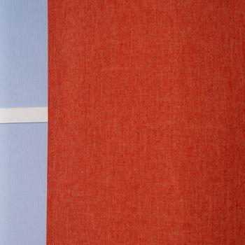 Ösenvorhang Brilliant Leinenoptik einfarbig terrakotta 140x245cm – Bild 8