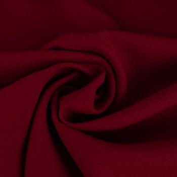 Kreativstoff Universalstoff Polyester Stretch dunkelrot 1,45m Breite – Bild 1