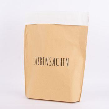 Tüte Siebensachen Papier natur weiß 40x50cm – Bild 1