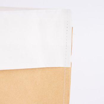 Tüte Siebensachen Papier natur weiß 40x50cm – Bild 2