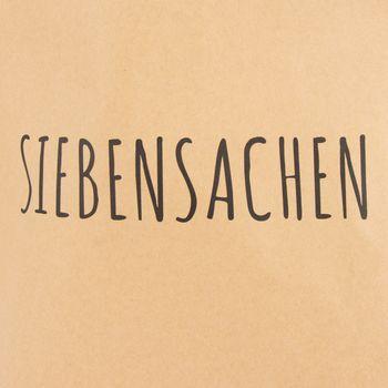 Tüte Siebensachen Papier natur weiß 40x50cm – Bild 3
