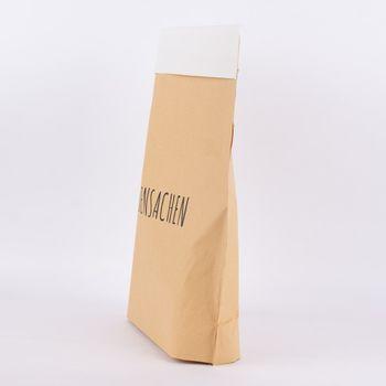 Tüte Siebensachen Papier natur weiß 40x50cm – Bild 4