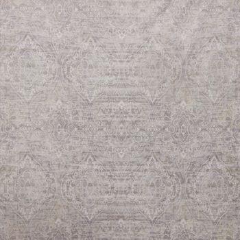 SCHÖNER LEBEN. Vorhang Velvet Deluxe Samt Barock Ornamente creme champagner grau 245cm oder Wunschlänge – Bild 5
