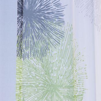 Schlaufenschal Feuerwerk Kreise grün 140x245cm – Bild 3