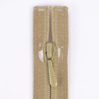 Prym Reißverschluss RV S2 Typ 0 Nahtfein 50 cm Fla khaki – Bild 2