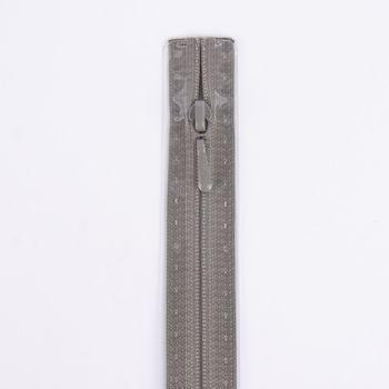 Prym Reißverschluss RV S2 Typ 0 Nahtfein 60 cm Fla m-grau – Bild 1