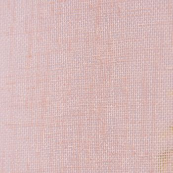 Ösengardine Leinenoptik uni rosa 140x260cm – Bild 6