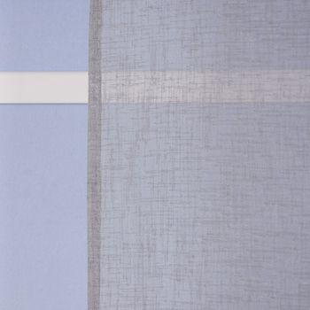 Ösengardine Leinenoptik uni grau 140x260cm – Bild 8