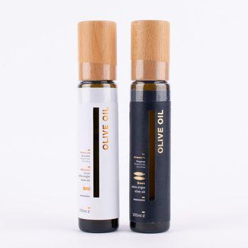Greenomic Delikatessen Black extra natives Olivenöl kaltgepresst 250ml – Bild 3
