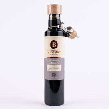 Greenomic Delikatessen Aceto Balsamico di Modena Blueberry 250ml – Bild 1