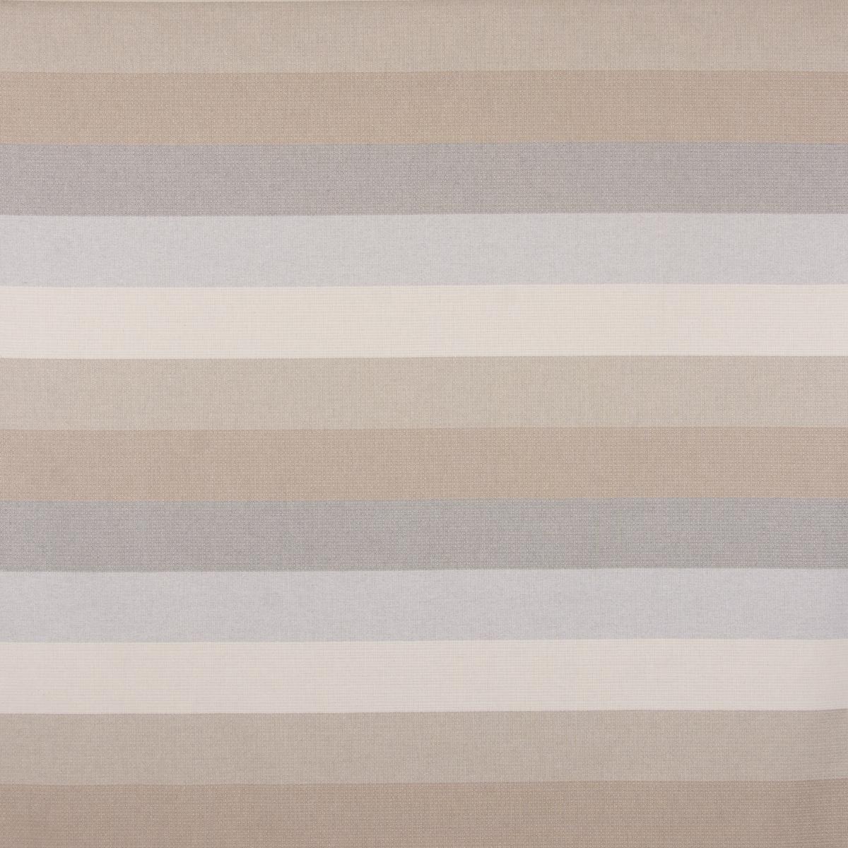 SCHÖNER LEBEN. Kissenhülle Streifen 9,5cm creme beige braun grau