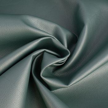 Kunstleder Bezugsstoff Polsterstoff mint metallic 1,4m Breite – Bild 1
