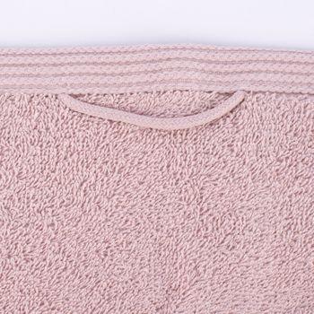 Premium-Frottee Handtuch 100% Baumwolle 580g/qm blush hellrosa – Bild 2
