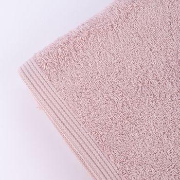 Premium-Frottee Handtuch 100% Baumwolle 580g/qm blush hellrosa – Bild 4