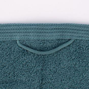 Frottee Handtuch 100% Baumwolle ozeanblau – Bild 2