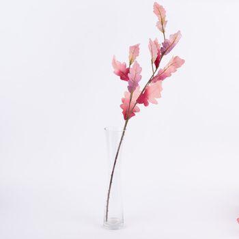 Kunstblume Blätter Zweig rosa pink 85cm – Bild 1