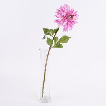 Kunstblume Dahlie rosa 66cm – Bild 1