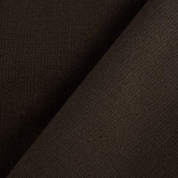 Stretch Cord einfarbig dunkelbraun 1,40m Breite – Bild 6