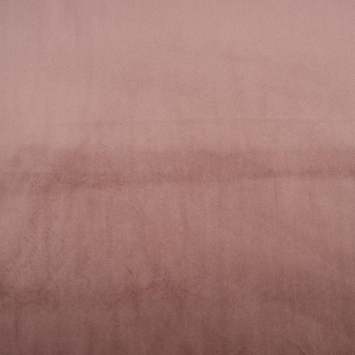 Samtstoff Dekostoff Velvet Samt einfarbig altrosa 1,4m