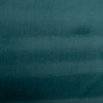 Samtstoff Dekostoff Velvet Samt einfarbig petrol 1,4m – Bild 1