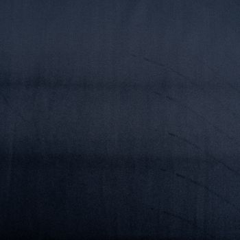 Samtstoff Dekostoff Velvet Samt einfarbig navy blau 1,4m – Bild 1