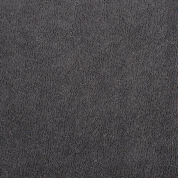 Frotteestoff Stretch Frottee einfarbig zinn grau 1,5m Breite – Bild 2