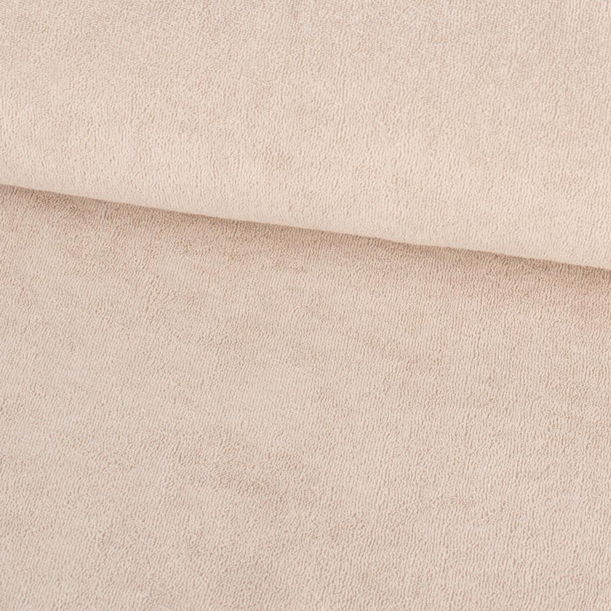 Frotteestoff Stretch Frottee einfarbig rosa 1,5m Breite
