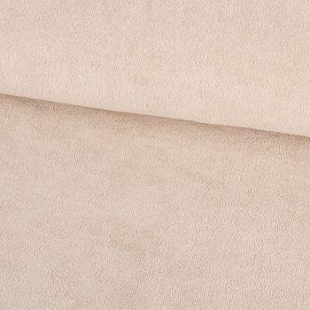 Frotteestoff Stretch Frottee einfarbig beige 1,5m Breite – Bild 1