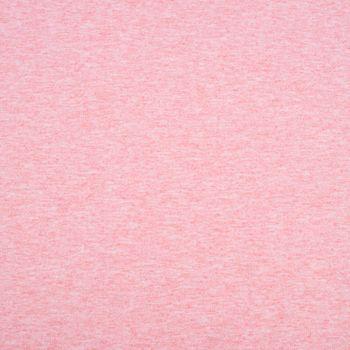 French Terry Sommersweat einfarbig flamingo rosa meliert 1,50m – Bild 2