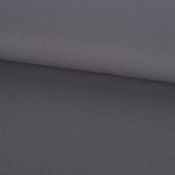 Bekleidungsstoff Twill Köper Wool Touch extra weich einfarbig mausgrau 1,45m Breite – Bild 1