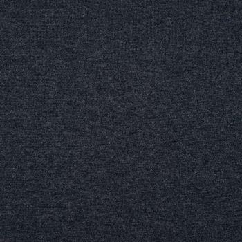 Kreativstoff Strickschlauch Bündchenstoff fein dunkelblau meliert 37cm Breite – Bild 2