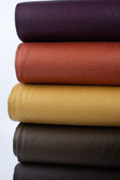 Lederjersey Jersey Struktur einfarbig senfgelb 1,5m Breite – Bild 11
