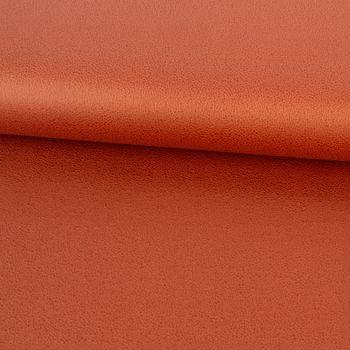 Lederjersey Jersey Struktur einfarbig orange 1,5m Breite – Bild 1