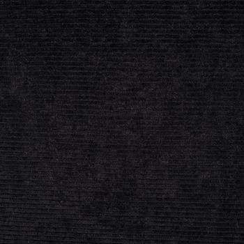 Rippen Jersey Cord Optik einfarbig schwarz 1,60m Breite – Bild 1
