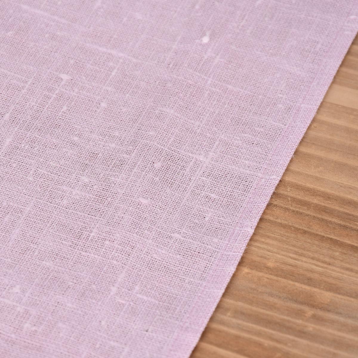 Platzset Erik aus 100/% Leinen 1-lagig 40x50cm rosa