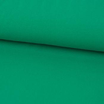 Baumwolljersey Jersey einfarbig grasgrün 1,60m Breite – Bild 1