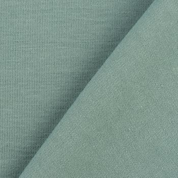 Baumwolljersey Jersey einfarbig altgrün 1,60m Breite – Bild 3