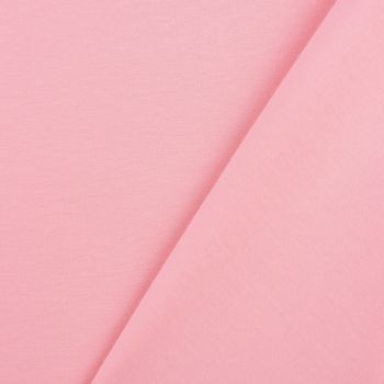 Baumwolljersey Jersey einfarbig hellrosa 1,60m Breite – Bild 3