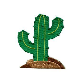 Prym Applikation Kaktus auf Hügel selbstklebend 6x7,5cm – Bild 2