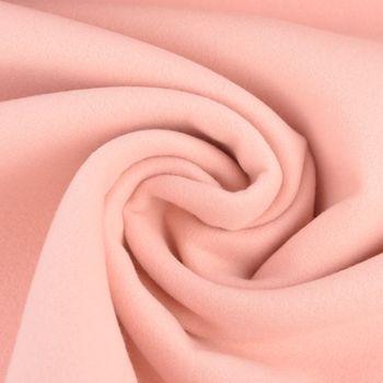 Mantelstoff Softcoat uni rosa 1,50m Breite – Bild 3