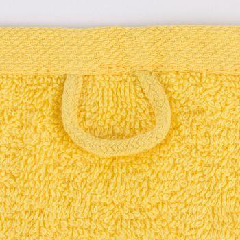 Qualitätsfrottee Handtuch 100% Baumwolle 500g/qm gelb – Bild 10