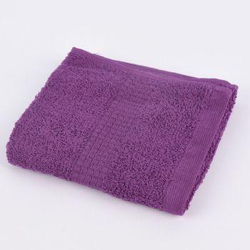 Qualitätsfrottee Handtuch 100% Baumwolle 500g/qm lila – Bild 8