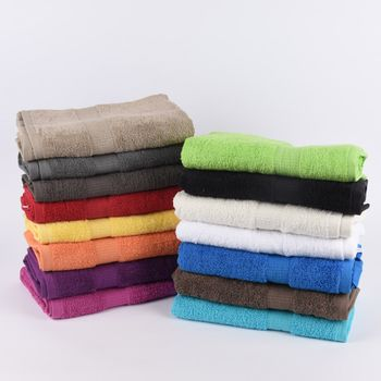 Qualitätsfrottee Handtuch 100% Baumwolle 500g/qm orange – Bild 11
