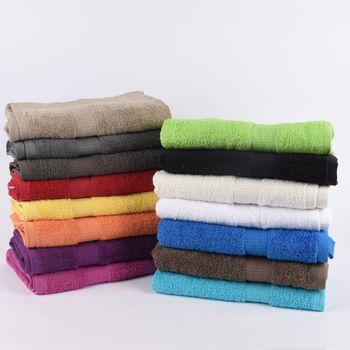 Qualitätsfrottee Handtuch 100% Baumwolle 500g/qm cremeweiß – Bild 12